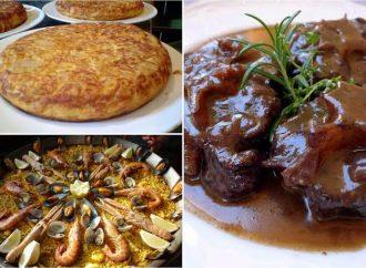 Los platos típicos de españa