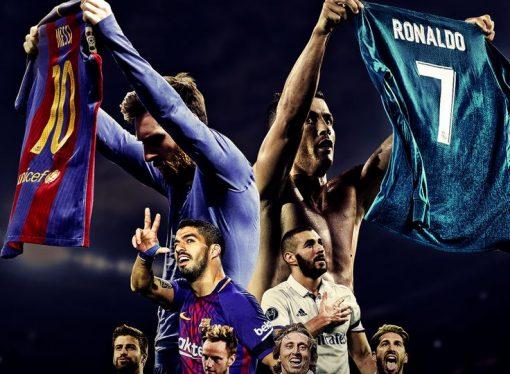 El Clasico  : Real Madrid VS FC Barcelona