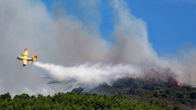 BBQ de estudiantes italianos resultados en 13 millones de euros de multa por incendio forestal