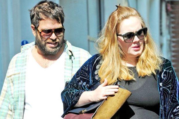 Adele se separa del esposo Simon Konecki
