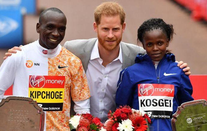 Eliud Kipchoge gana un cuarto récord de la maratón de Londres