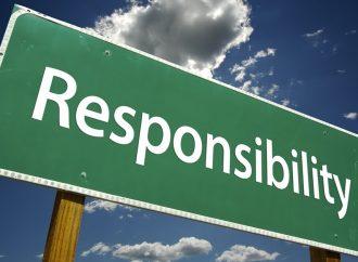 ¿Cuál es la importancia de asumir la responsabilidad?