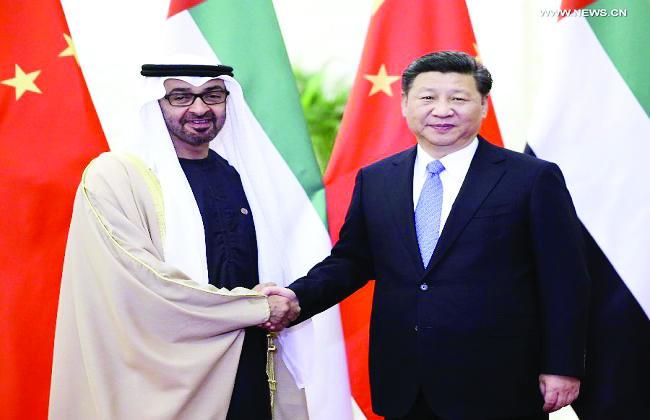EAU y China Asociación estratégica integral