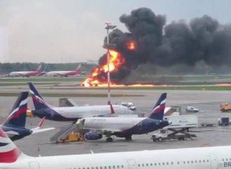 Accidente de avión de la Aeroflot: avión a reacción de Rusia 'golpeado por relámpago'