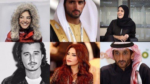 Exitosos personajes emiratíes