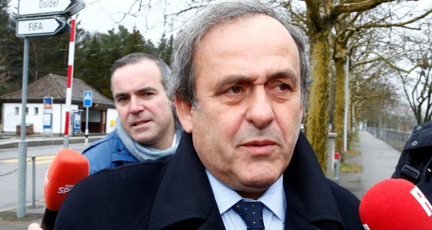 Michel Platini fue detenido en 2022 acusaciones de corrupción en la Copa Mundial de Qatar