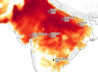 ¿Las partes de la India se están calentando demasiado para los humanos?