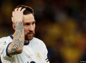 Lionel Messi excluido del fútbol internacional durante 3 meses