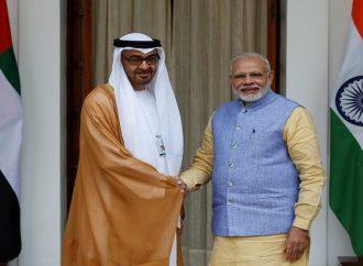 El primer ministro indio comenzará una visita  a los Emiratos