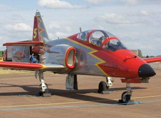 La Manga : Avión militar español se estrella en el mar
