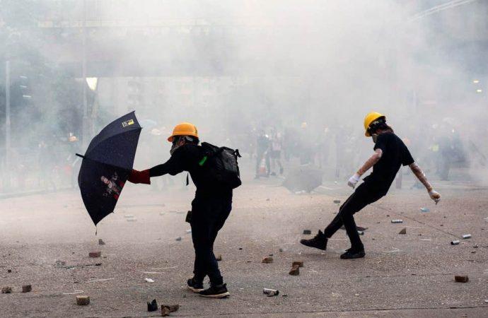 Protesta de Hong Kong : China impulsa los EE.UU a dejar de enviar señales incorrectas de Hong Kong