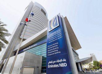 Las acciones bancarias más grandes de Emirates NBD saltan